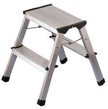 Hailo L90 taburete de aluminio con 2(2x2 Stufen)