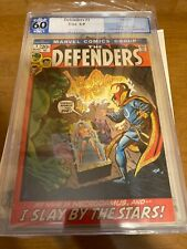 Defenders #1 Marvel 1972 PGX 6.0 NM Hulk, Sub-Mariner, Doctor Strange – Premiere