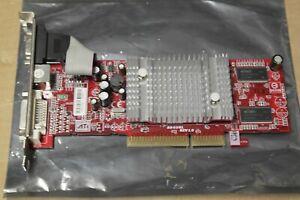 ATI Radeon 9550 AGP 128Mb Graphics Video VGA DVI  Card