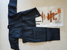 new tiger claw tc 2000 black martial arts gi uniforms with pants size 000