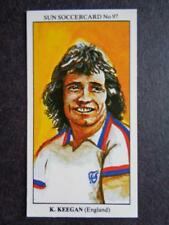 The Sun Soccercards 1978-79 - Kevin Keegan - England #97