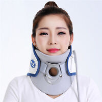 Cervical Collar Traction Neck Brace Support Strap Therapy Device Rlease Massager