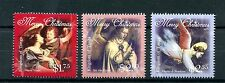 Tonga 2013 MNH Christmas 3v Set Angels Art Vouet Jan Van Eyck Bondone Stamps