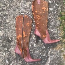 Cow hide boots nwt $170