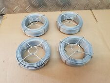 Fence wire 200m 4x50m 1.8mm fencing steel cable garden straining tensioner line