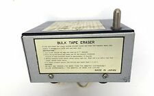 Roberts Bulk Eraser Model 3885 Reel-to-Reel Tape Cartridge Rheem Degausser