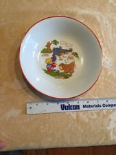 Vintage Never Used Bareuther Waldsassen Bavaria 161 Deep Plate Bowl Children's