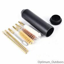 7pc Pocket Pistol Hand Gun Cleaning Kit Cleaner Bore Brushes Rods .38 .357 9mm