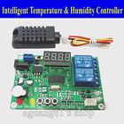 5/12V 24V Digital Intelligent Temperature & Humidity Controller Relay Thermostat