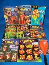 Halloween Pumpkin Carving Kits characters patterns tools large selection