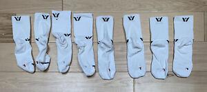 4 Pairs | Swiftwick Four Performance Crew Socks | White | Large