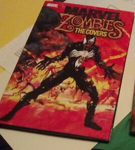 """Marvel Zombies """"The Covers"""" hardcover, signed by Arthur Suydam!"""