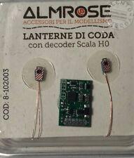 ALMROSE 8-102003 lanterne di coda a led (2 pz) asincrone con decoder - già verni