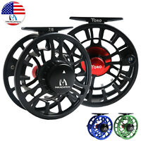 Maxcatch Fly Reel 3/4 5/6 7/8WT Large Arbor CNC Machined Aluminum Fishing Reel