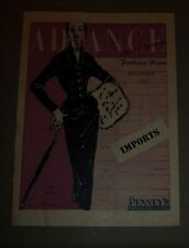 Advance Fashion News Pamphlet November, 1953 By Penney's