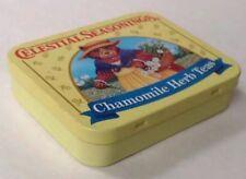 Celestial Seasonings Chamomile Herb Tea Tin Bear & Flower Basket