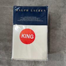 Ralph Lauren RL 624 TC Cotton Sateen Fitted Sheet King Hollywood Cream O1040