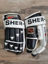 Vintage Sherwood SP-5060 Leather 14.5 inch Hockey Gloves
