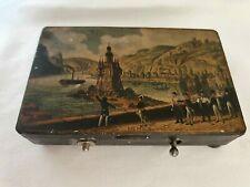 Antike Walzenspieldose Spieluhr Music box aus 1870 + Schlüssel. Betriebsbereit