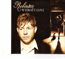 (FR939) Robinson, Without Love  - 2011 DJ CD