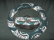 PHILADELPHIA EAGLES FLEECE STEERING WHEEL COVER SET