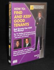 Rare CD Rich Dad How to Find and Keep Good Tenants (Kiyosaki)