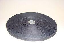 25m Hakenband Klettband zum Aufnähen 16mm schwarz /Grundpreis je Meter=EUR 0,35