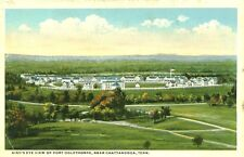 Chattanooga,TN. A Bird's Eye View of Fort Oglethorp