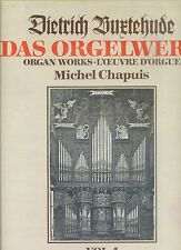 MICHEL CHAPUIS das orgelwerk DIETRICH BUXTEHUDE vol 4 2LP BOX NEAR MINT