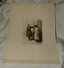1881 Alfred Walter BAYES London England Etching The Sacristy Door from Reeves