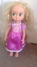 Disney Store Tangled Niño Animator Rapunzel Juguete Muñeca 5 Sello de línea