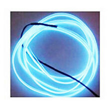2m Neon Cold Light Auto Car Interior Lamp Flexible EL-Wire Rope Tube LED Strip