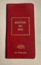 Airco Industrial Gas Data Booklet Air Reduction - very good condition