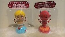 2 x  NEW 2017 Solar Dancing Cupid and Devil   ( Valentine's Day )