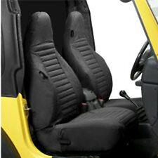 Sitzbezug Paar vorne schwarz Jeep Wrangler TJ 1997-2002