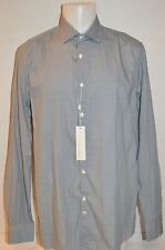 J. LINDEBERG Mans DANI CA BLUE PRINT Casual Shirt NEW Size X-Large Retail $195
