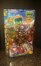 Vintage TMNT Turtle in Turtle Leonardo Mini Mutant Battle Castle Set RARE
