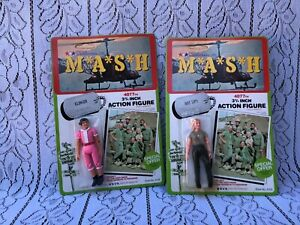 M*A*S*H 407th Action Figures Klinger & Hot Lips Vintage Collectible Toys