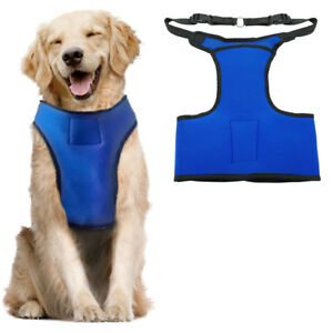 Summer Dog Harness For Cooling Vest With Gel Pack Pet Drop Heat Medium Large Dog