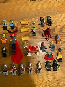 LEGO Minifigure Lot HUGE! Feat. Kingdoms, Lego Movie, Space Police, and MORE!
