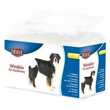 Trixie Female Dog Diapers/Disposable Incontinence Nappies, M-L 36-52cm - 12 Pack