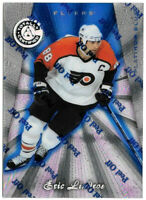 1997-98 Eric Lindros Totally Certified Platinum Blue /3099 - Philadelphia Flyers