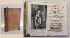 Papst Gregor Sancti Gregorii Papae I. 1757 Theologie Kirchengeschichte Religion