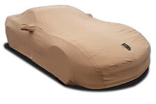 C6 Corvette 2006-2013 Z06/GS Premium Flannel Car Covers - Tan