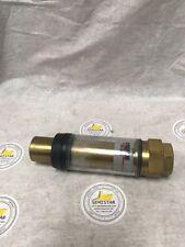 """PN 2908-0041-01 AG Associates Heatpulse H605-004 HL50501 Meter 1/2"""" Brass"""