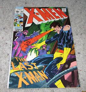 X-men 59 Neal Adams Havok Cyclops Marvel Girl Iceman Original team   LOT MCU