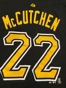 Andrew McCutchen Pittsburgh Pirates VINTAGE Majestic MLB Shirt