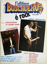 BUSCADERO 17 1982 Bruce Springsteen Dave Edmunds Ry Cooder Graham Parker McGuinn