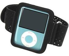 Sport pulsera iPod Nano 3 / 3g, Neopreno CIERRE ADHESIVO Brazo Negro