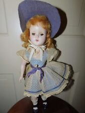"VINTAGE ARRANBEE R&B HARD PLASTIC NANCY ANN NANETTE 14.5"" DOLL ALL ORIGINAL"